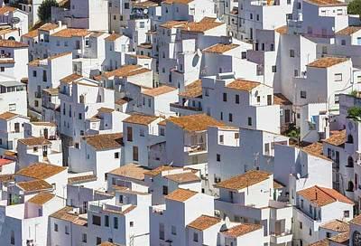 Casares Photograph - Casares, Andalusia, Spain by Ken Welsh