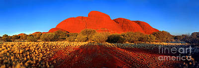 Kata Photograph - Central Australia by Bill  Robinson