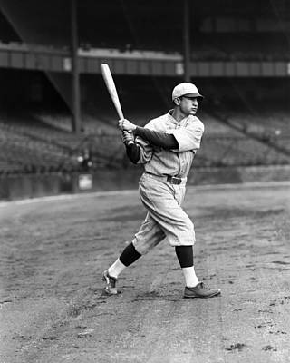 Red Sox Photograph - Charles S. Buddy Myer by Retro Images Archive
