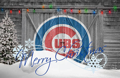 Chicago Cubs Print by Joe Hamilton