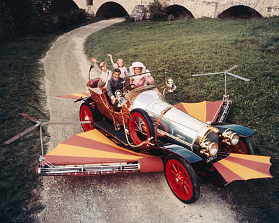 Heather Photograph - Chitty Chitty Bang Bang  by Silver Screen