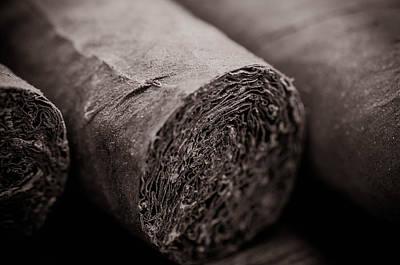 Cigars Print by Brandon Bourdages