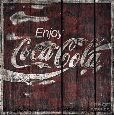 Coca-cola Sign Photograph - Coca Cola Sign by John Stephens