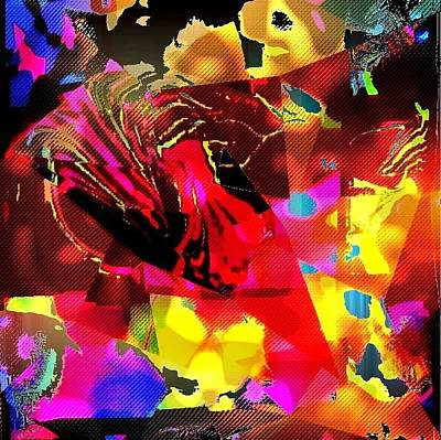 Etc. Digital Art - Colorful by HollyWood Creation By linda zanini