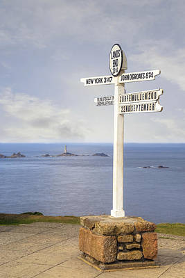 Cornwall - Land's End Print by Joana Kruse