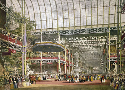 Inauguration Painting - Crystal Palace, 1851 by Granger