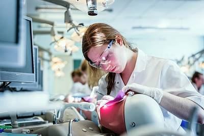 Simulator Photograph - Dentistry Training by Gustoimages