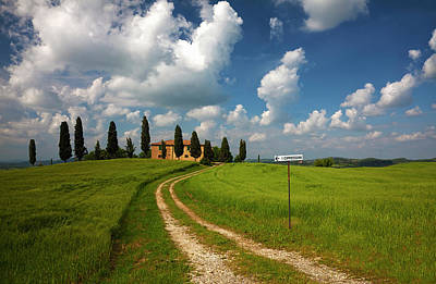 Europe, Italy, Tuscany Print by Terry Eggers