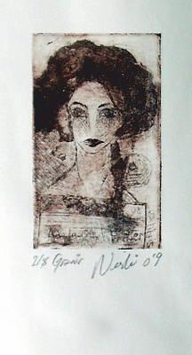 Ap Painting - Exlibris by Nesli Sisli