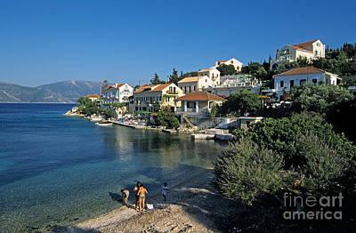 Vacation Photograph - Fiskardo Village by George Atsametakis