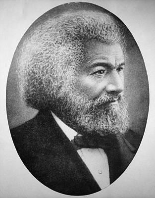 Frederick Douglass (c1817-1895) Print by Granger