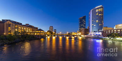 Grand Rapids  Print by Twenty Two North Photography