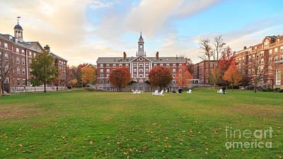 Harvard Moors Hall Print by Jannis Werner