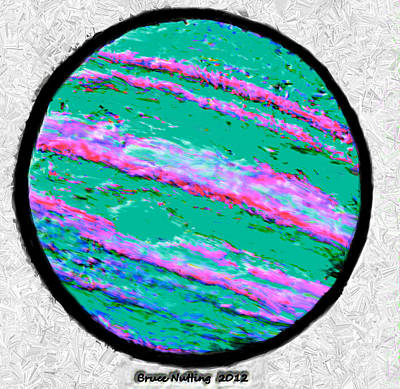 Terrene Painting - Jupiter In Many Colors by Bruce Nutting