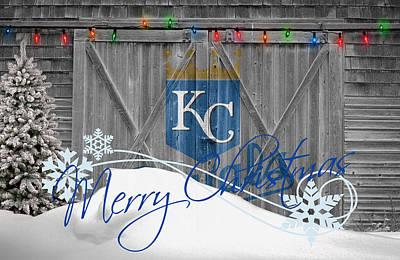 Kansas City Royals Print by Joe Hamilton
