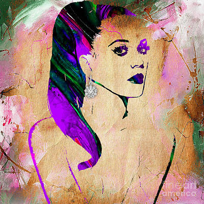 Katy Perry Collection Print by Marvin Blaine