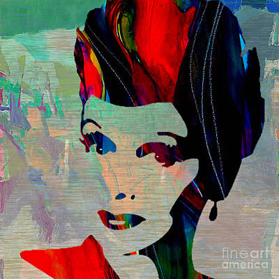 Woman Mixed Media - Lucille Ball by Marvin Blaine