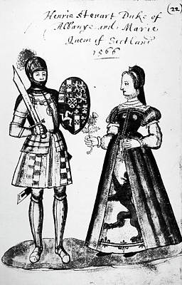 Mary, Queen Of Scots (1542-1587) Print by Granger