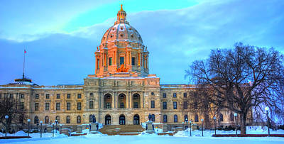 Photograph - Minnesota State Capitol St Paul by Amanda Stadther