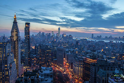 Empire State Photograph - New York City, Ny, Usa by Julien Mcroberts