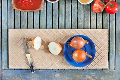 Onions Print by Tom Gowanlock