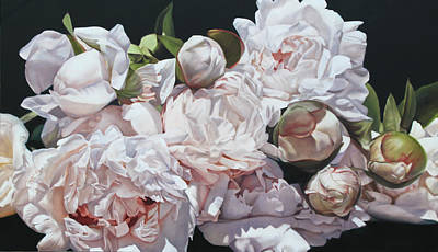 Painting - Peonies by Thomas Darnell