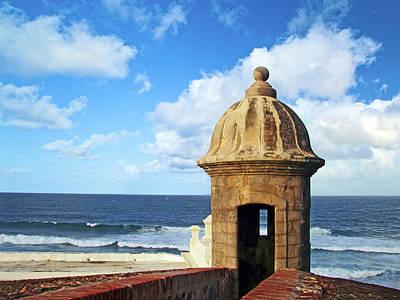 Puerto Rico, San Juan, Fort San Felipe Print by Miva Stock