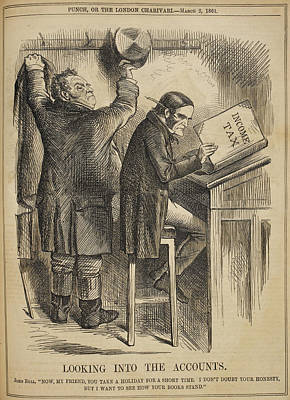 Business Cartoon Photograph - Punch by British Library