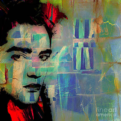 Robert Pattinson Collection Print by Marvin Blaine