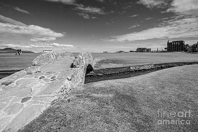St Andrews 18 Hole Print by Keith Thorburn LRPS