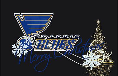 St Photograph - St Louis Blues by Joe Hamilton
