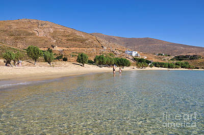 Swimming Photograph - The Famous Psili Ammos Beach by George Atsametakis