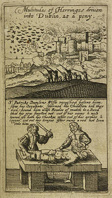 The Teares Of Ireland Print by British Library