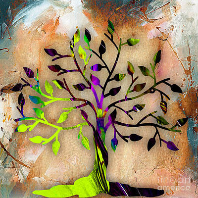 Tree Of Life Painting Print by Marvin Blaine