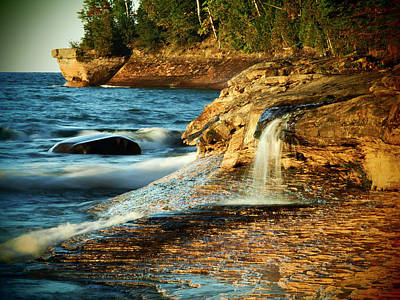 National Seashore Photograph - Usa, Michigan, Upper Peninsula by Julie Eggers