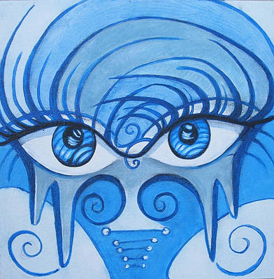 Lady Gaga Painting - Windows 2 The Soul by Annette Jimerson