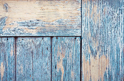 Wooden Background Print by Tom Gowanlock