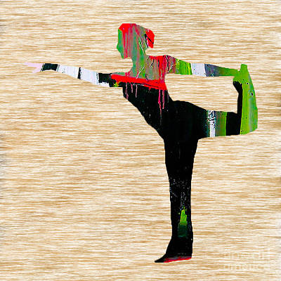 Namaste Mixed Media - Yoga by Marvin Blaine