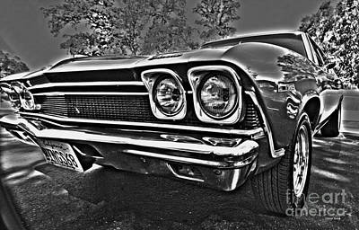 68 Chevelle Print by Cheryl Young