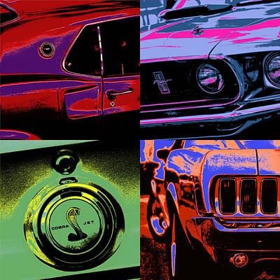 '69 Mustang Print by Gordon Dean II