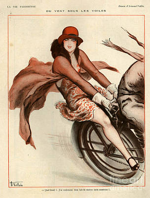 La Vie Parisienne Drawing - 1920s France La Vie Parisienne by The Advertising Archives