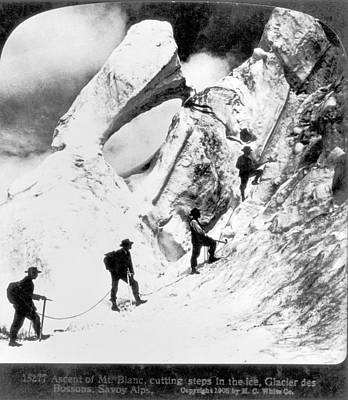 Ambition Photograph - Alpine Mountaineering by Granger