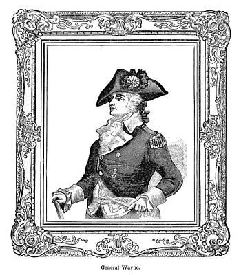 Patriotic Painting - Anthony Wayne (1745-1796) by Granger