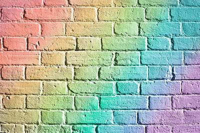 Brick Wall Print by Tom Gowanlock