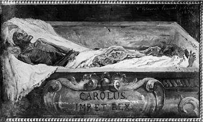Coffin Drawing - Charles V (1500-1558) by Granger