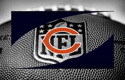 Chicago Bears Print by Joe Hamilton
