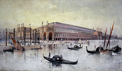 Liberal Painting - Columbian Exposition, 1893 by Granger