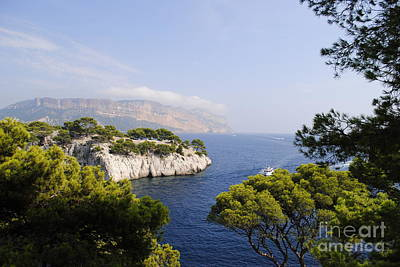 Turquois Water Photograph -  Beautiful View At The Bay On Cote D'azur by Maja Sokolowska