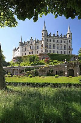 Scotland Photograph - Dunrobin Castle by Grant Glendinning