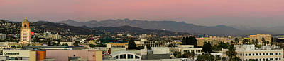 Beverly Hills Photograph - Elevated View Of Buildings In City by Panoramic Images